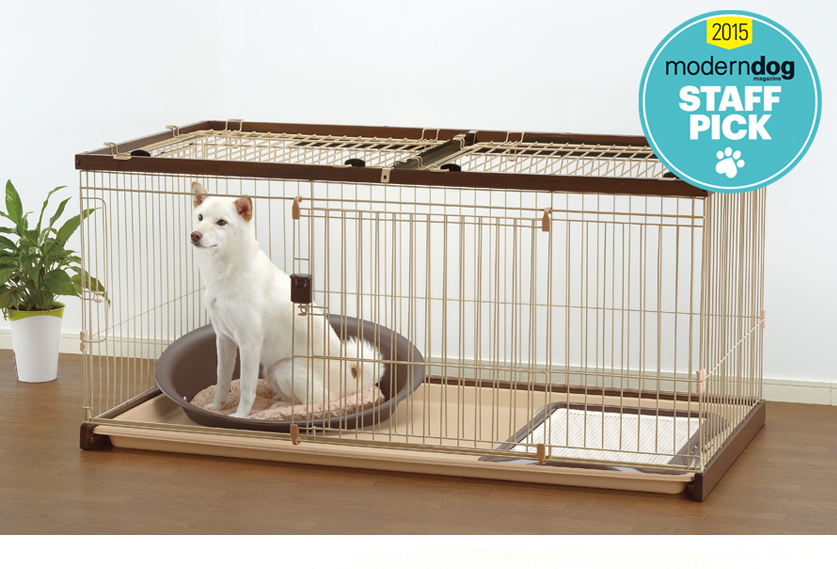 Easy-Clean Pet Crate is selected as a 2015 Staff Pick from Modern Dog magazine!