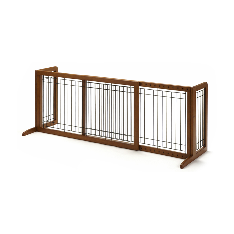 Dog gates cat gate freestanding pet gate large richell usa for International decor gates