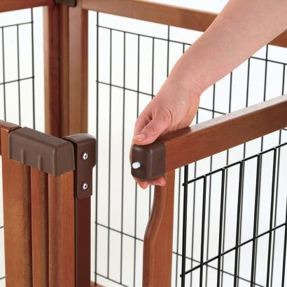4 Panel Pet Gate Convertible Elite Pet Gate Room Divider