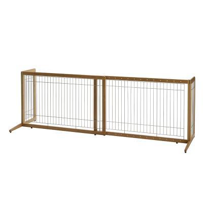 Freestanding Dog Gates | Freestanding Bamboo Pet Gate