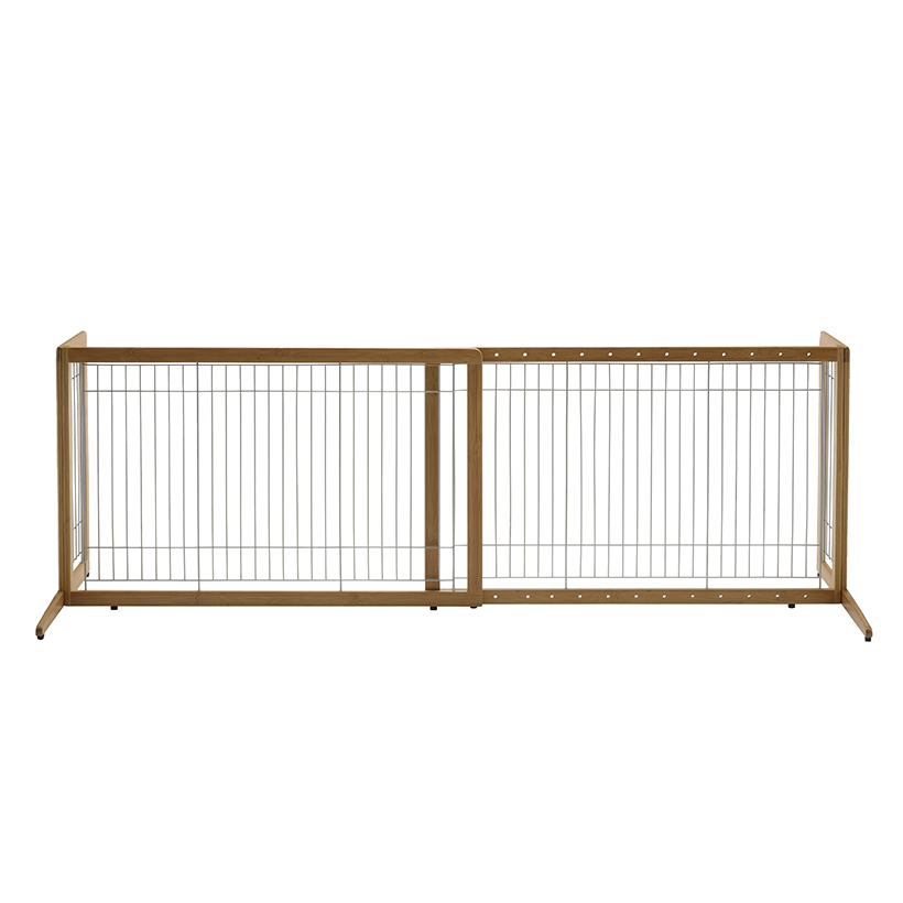 Freestanding Dog Gates Freestanding Bamboo Pet Gate