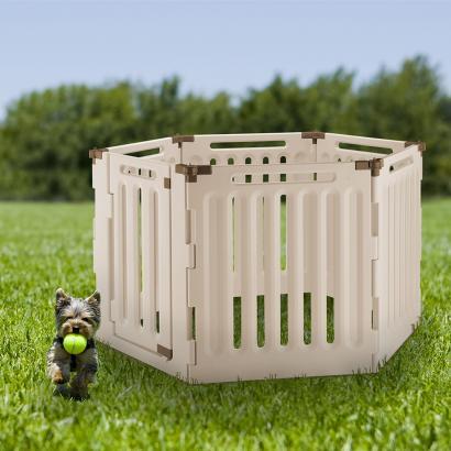 Convertible Indoor Outdoor Pet Playpen 6 Panel Richell