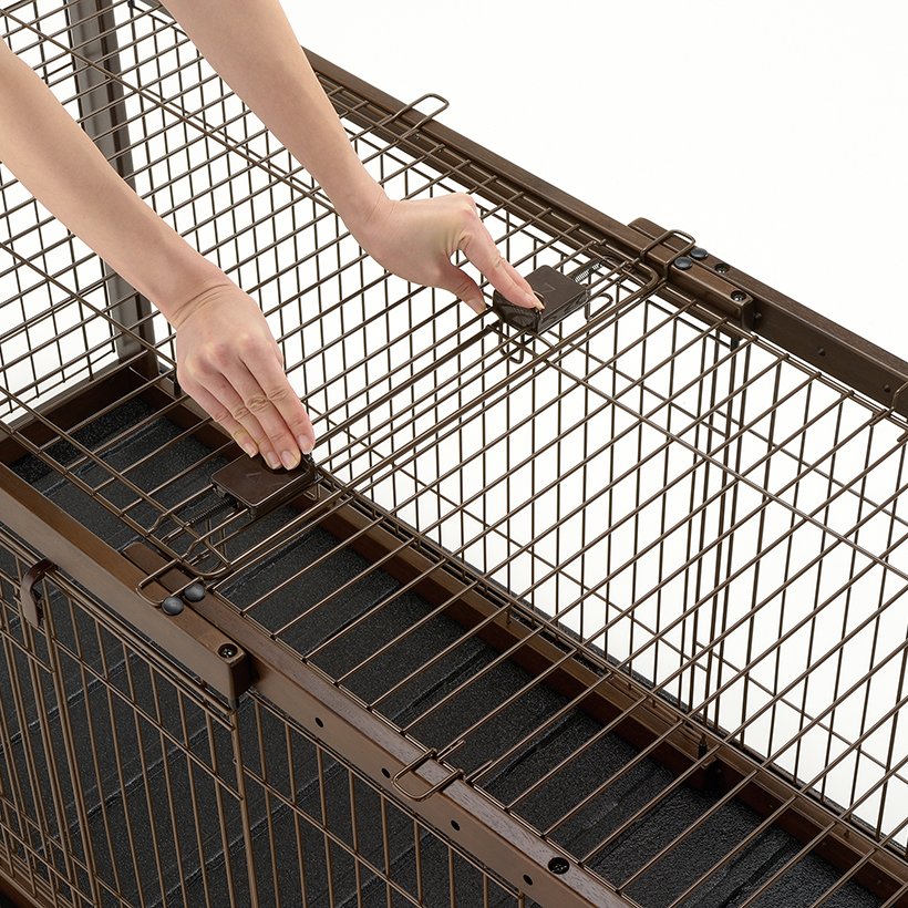 Expandable Pet Crate Wire Top Richell Usa Inc