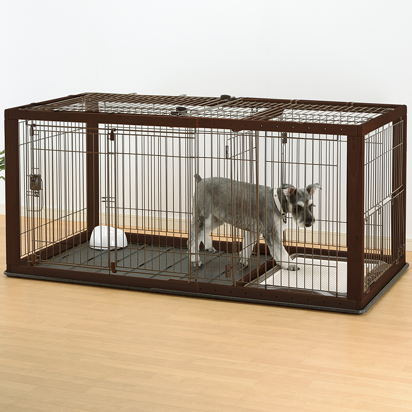Expandable Dog Crate Wire Top Expandable Pet Crate Wire Top