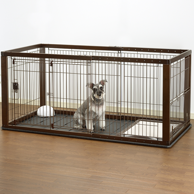 Large Dog Kennels Costco : Expandable pet crate large dog cat kennell orthopedic