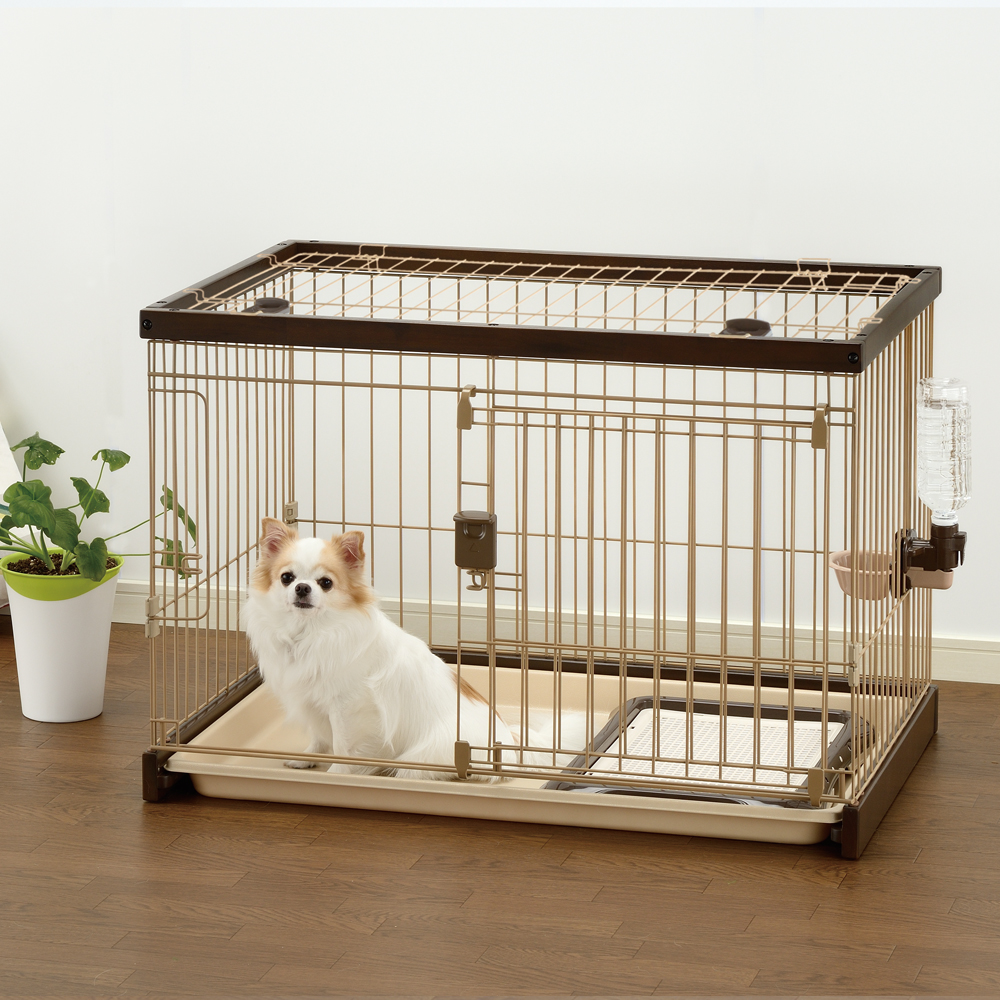 Easy clean pet crate dog crates cat pens pet carriers for Best dog crates for puppies