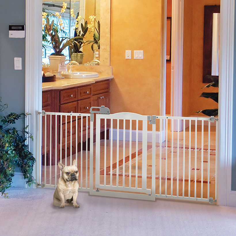 One Touch Pet Gate Dog Gates