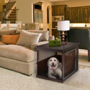 End Table Dog Crate