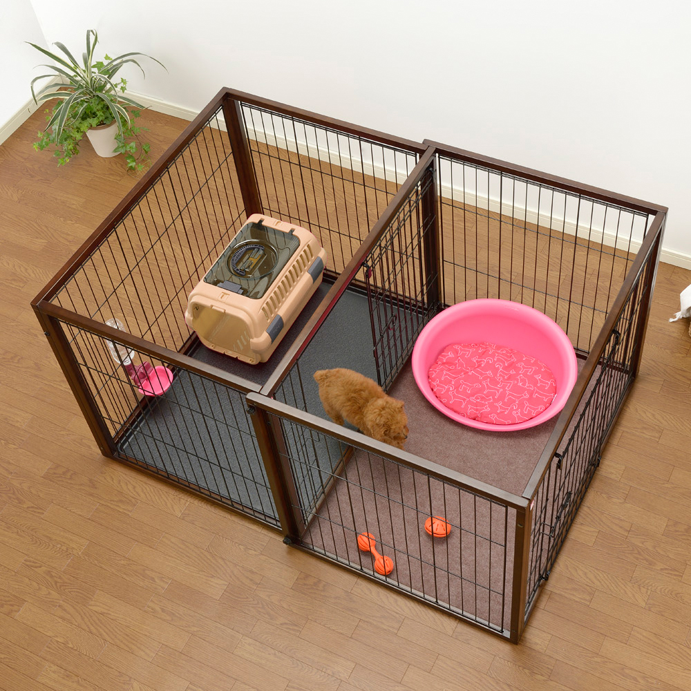 Dog Playpen With Crate Pets Delicate 24 Cat Crates