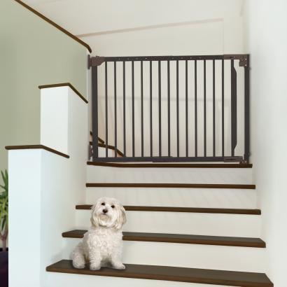 Expandable Walk Thru Dog Gates Expandable Walk Thru Pet Gate