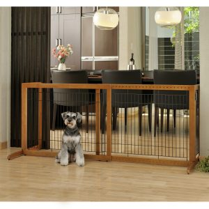 Freestanding Pet Gate High-Large