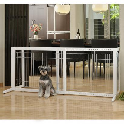 Freestanding Pet Gate HL, Dog Gates, Cat Gate, Pet Furniture