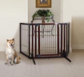 Premium Plus Freestanding Pet Gate