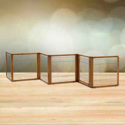 dog gates pet gates pet crates pet pen room divider zigzag gates