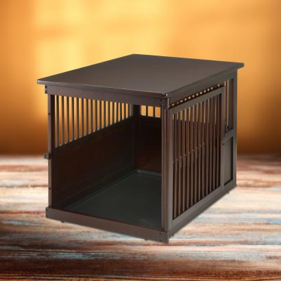 End Table Wooden Dog Crate End Table Wooden Pet Crate