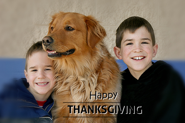 Celebrating Thanksgiving with Your Pets!