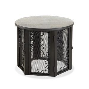 Accent Table Pet Crate Small with elegant looks