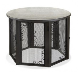 Accent Table Pet Crate Medium with elegant looks