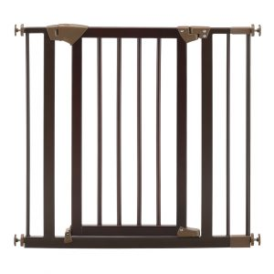 Wooden Tension Mount Dog Gate